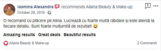 Review Iasmina Dermopigmentare