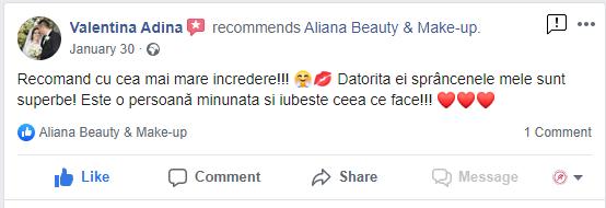 Review Valentina Aliana